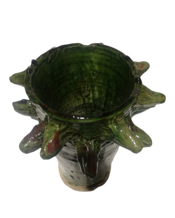 Tamegroute Green Vase
